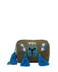 Raj - Embroidered Butterfly Cosmetic Bag - Lyst