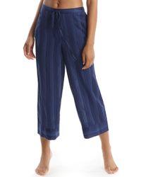 Commando - Cropped Pajama Pants - Lyst