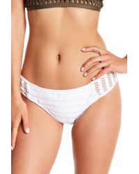 Kenneth Cole - Netted Hipster Bikini Bottom - Lyst