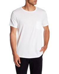 Save Khaki - Heavy Supima Jersey Pocket Tee - Lyst
