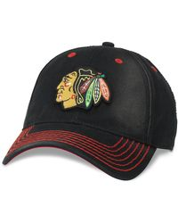 d267855ffda89 Lyst - American Needle  chicago Blackhawks - Haven  Ball Cap in Blue ...