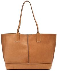 Frye - Lucy Leather Tote Bag - Lyst