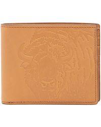 Fossil - Luke Leather Rfid Wallet - Lyst