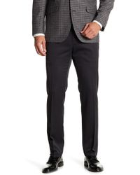 """Kenneth Cole Reaction - Urban Heather Slim-fit Flat Front Dress Pants - 29-34"""" Inseam - Lyst"""