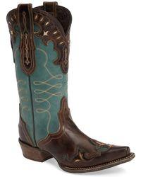 Ariat - Zealous Wingtip Western Boot (women) - Lyst