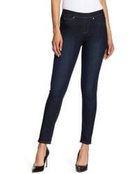 Two By Vince Camuto | Dark Rinse Classic Jeggings | Lyst