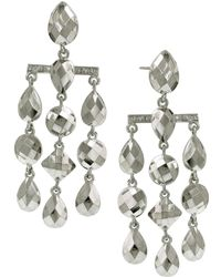 1928 - Stone Chandelier Earrings - Lyst