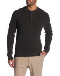 Brooks Brothers - Solid Knit Henley - Lyst