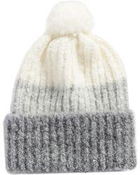 UGG - Three Color Lofty Pom Hat - Lyst