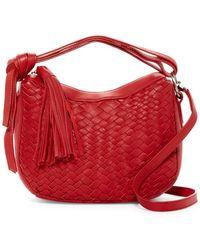 0f45805eeb52 Treesje - Sophie Mini Leather Hobo Bag - Lyst