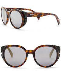 Just Cavalli - Round 53mm Plastic Sunglasses - Lyst