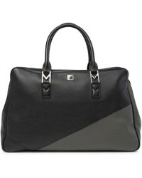 Versace - Colorblock Leather Pilot Briefcase - Lyst