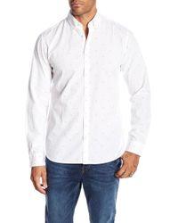 Jack & Jones - Porter Long Sleeve Print Slim Fit Woven Shirt - Lyst