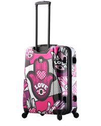 Mia Toro Italy Hamsa Love Mono Hard Shell Luggage
