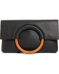 BP. - Faux Leather Circle Clutch - Lyst