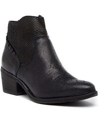 Khrio - Textured Leather Boot - Lyst