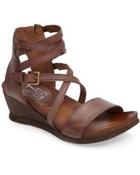 Miz Mooz - 'shay' Wedge Sandal (women) - Lyst