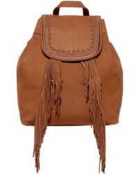 Lucky Brand | Zori Leather Backpack | Lyst