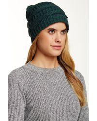 Modena - Horizontal Purl Knit Hat - Lyst