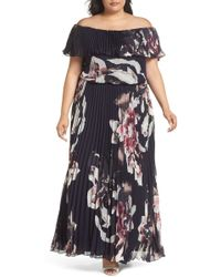 Xscape - Off The Shoulder Ruffle Top Ch - Lyst