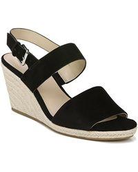 2a7f87cf6fc Lyst - Via Spiga Nirvelli Ankle Strap Platform Sandal in Black
