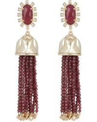 Kendra Scott Decker Tassel Drop Earrings - Multicolour