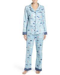 Munki Munki - Print Flannel Pyjamas - Lyst