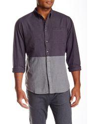Imperial Motion | Hodge Long Sleeve Workregular/slim Fit Shirt | Lyst