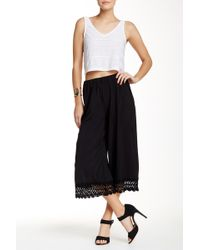 Lily White - Palazzo Pant - Lyst