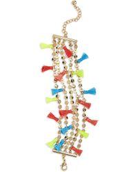 BaubleBar - Rica Chain & Tassel Bracelet - Lyst
