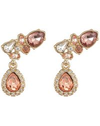 Givenchy - Crystal Crawler Drop Earrings - Lyst