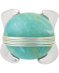Robert Lee Morris - Wire Wrapped Green Stone Ring - Size 7.5 - Lyst