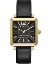 Marc Jacobs - Women's Square Leather Watch, 30mm - Lyst