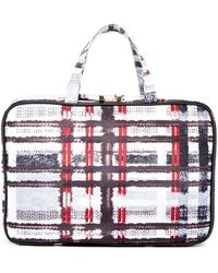 Kestrel - Plaid Weekend Organizer Bag - Lyst