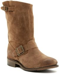 Walk-Over - Veronica Leather Moto Boot - Lyst