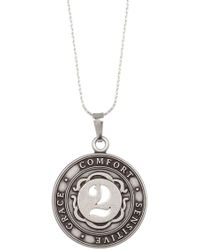 ALEX AND ANI | Numerology Number 2 Charm Adjustable Necklace | Lyst