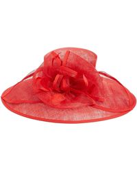 Nordstrom - Feathered Sinamay Hat - Lyst