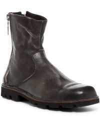 DIESEL - Hardkor D-viron Leather Boots - Lyst