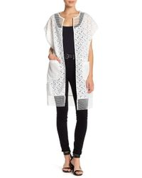 Steve Madden - Out On The Town Mesh Topper - Lyst