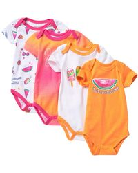 Juicy Couture - Bodysuits - Pack Of 4 (baby Girls) - Lyst