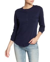 Alternative Apparel - Donna Pocket Henley - Lyst