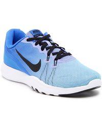 f53faef6e9e9 Lyst - Nike Flex Trainer 7 Fade in Blue