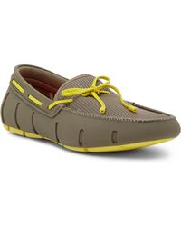 Swims - Braided Lace Rubber Loafers - Lyst