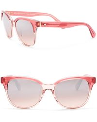 Kate Spade - Arlynn 52mm Square Sunglasses - Lyst