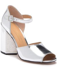 31a195f6e83 Lyst - Marc Jacobs Metallic Leather Sandals - Gold in Metallic