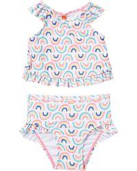 d311ffffa395c Calzedonia Girls' Liquirizia Striped Bikini - Lyst