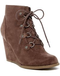 Madden Girl | Gaylee Wedge Boot | Lyst