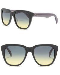 Rag & Bone - 54mm Mirrored Sunglasses - Lyst