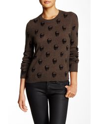 Skull Cashmere - Felony Cashmere Sweater - Lyst