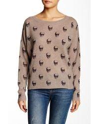 Skull Cashmere - Giger Cashmere Skull Sweater - Lyst